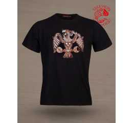 Turul bird of Rakamaz T-shirt - black