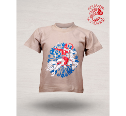 Scythian archer T-shirt - beige