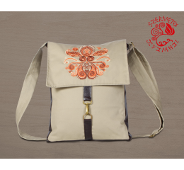 Lifetree-palmette adventurer bag - beige