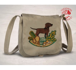 Hungarian pointer (standing) small bag - beige