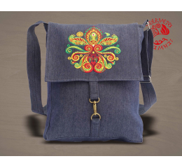 Lifetree-palmette adventurer bag - denim