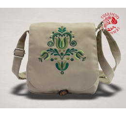 Szervető-jazygia small bag - beige & white