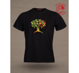 Avar lifetree-griffin T-shirt - black