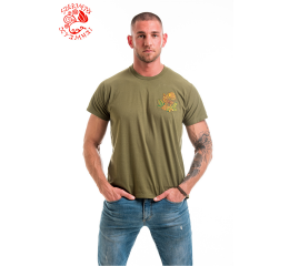 Wonder deer T-shirt - green