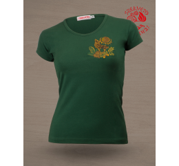 Wonder deer O-neck T-shirt - green
