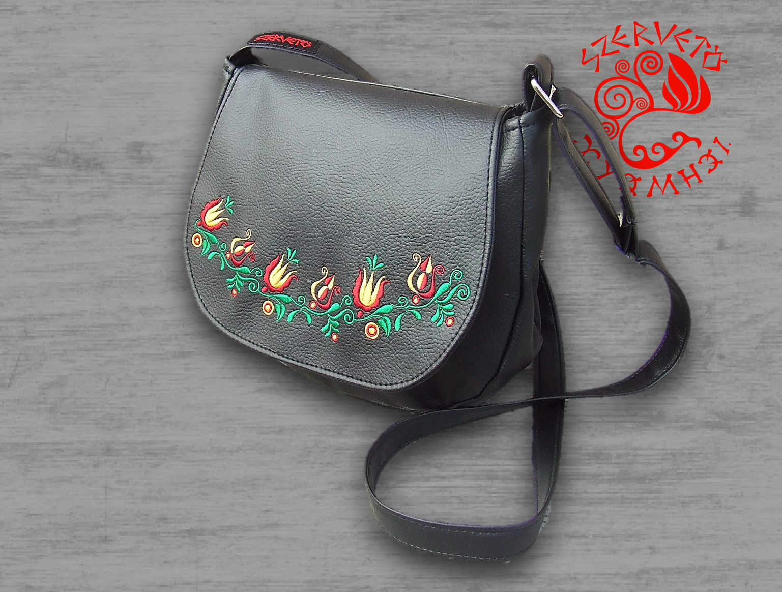 Textile leather bags